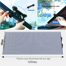 Folding Car SUV Windscreen Sun Screen Shade Visor Heat Block Cuttable 46cm Wide