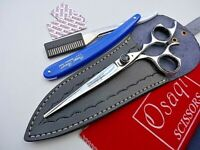 "120daysWarranty_7.5"" Osaqi Barber Hairdressing Hair Scissors/420c Japanese Steel"