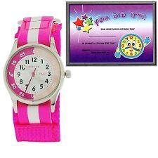 Reflex Time Teacher Watch Easy to Read Children Girl Boys Gift for Kids Award
