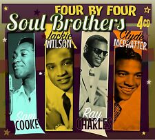 """""""Soul Brothers"""" Sam Cooke, Jackie Wilson, Ray Charles. Clyde McPhatter [4CD Set]"""