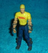 """TONKA TRUCKS CONSTRUCTION WORKER 3.5"""" TOY ACTION FIGURE CAKE TOPPER"""