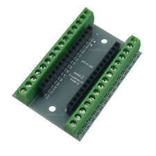 Arduino Nano Screw Terminal Shield Breakout Board Expansion Adapter Free US Ship