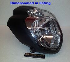 Yamaha MT-03 Style Streetfighter Custom Motorcycle Headlight MOT ready E-marked