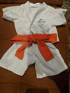 Build A Bear Karate Outift With Orange Belt