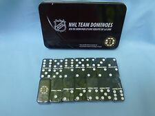 Boston Bruins  NHL TEAM DOMINOES Double Six Domino Set  NEW in GIFT TIN BOX