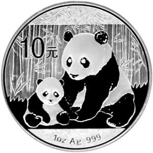 1 OZ Silber 10 Yuan China Panda 2012 Silver