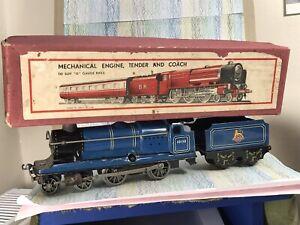 Chad Valley 'O' Locomotive/tender '10138' BR Flying Scotsman clockwork 4-4-0