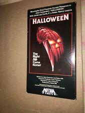 VHS Halloween 1978  1988/89 Media Home Entertainment Tv/Movie Mistake HTF TESTED