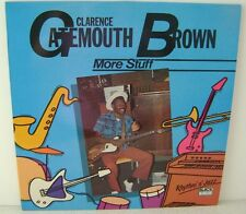 "Clarence Gatemouth Brown More Stuff LP 12"" Vinyl Black & Blue Records 33.561"