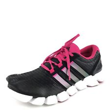 90cf30494172a Adidas Adipure Crazyquick Black Mesh Athletic Running Shoes Womens Size 8.5  M