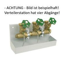 """Wasser Verteilerstation Schlösser DN 25 4 Abgänge Wasserverteiler Kompakt 1"""""""