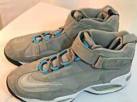Nike Air Griffey Max 1 Med Gray Metallic Silver Blue 354912-004 Size 11 Jordan