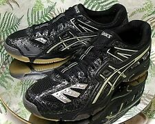ASICS GEL VOLLEY LYTE BLACK VOLLEYBALL SNEAKERS LACED SHOES MENS SZ 11.5 EU 46