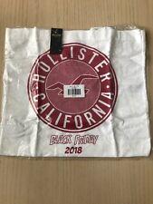 New Hollister Tote Bag Reusable Canvas 2018 Black Friday Sealed In Original Bag