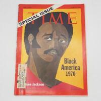 April 6 1970 Issue Time Magazine Black America Jesse Jackson Israel Bar Lev Vtg