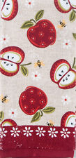 Kay Dee Apple Season Terry Cloth Kitchen Towel (R6240)