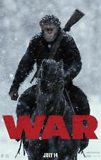 War for the Planet of the Apes Andy Serkis 2017 New Movie HQ Poster 60x90cm 001
