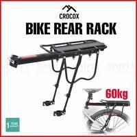 Bicycle Bike Rear Rack Seat Post Storage Mountain Mount Pannier Luggage Carrier