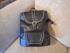 BORN Black Leather Backpack Handbag - New with Tags