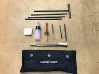 Military Field Cleaning Kit Black Gun Cleaning Kit for 5.56mm / .223 Rifle