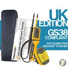 Di-Log DL6780 Voltaje y Continuidad Probador KIT3, Audible Zócalo Probador y caso
