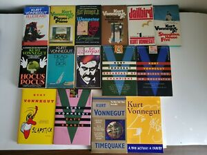 Kurt Vonnegut Jr. Lot of 15 Paperback Books