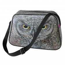 Tasche Handtasche Filztasche Umhängetasche Motiv: Eule Vogel