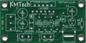 Quality LM3886 mono amplifier Chipamp Gainclone v1.4 PCB only DIY Audiophile