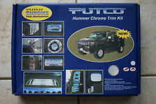New Putco Hummer 2003-2004 H2 Chrome Hood Handle Lift Cover 403407 03-04