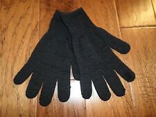 MILITARY STYLE D3A COLD WEATHER GLOVE LINERS 70% WOOL 30% NYLON SIZE LARGE U.S.A