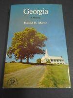 VINTAGE HCDJ SIGNED INSCRIBED GEORGIA A HISTORY HAROLD H. MARTIN 1977