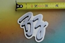BZ Surfboard Bodyboards Best Boogie Board Morey Vintage Silver Surfing STICKER