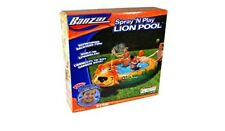 Banzai Sprinkling Spray 'N Play Lion Pool Refreshing Backyard Fun