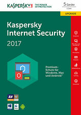 WOW Kaspersky Internet Security 2017 5user Upgrade