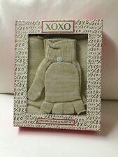 NIB XOXO Fashion Glove & Scarf Set.. Ivory