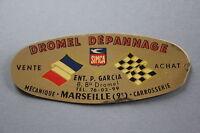 Ms Antique Sticker Dromel Simca Troubleshooting Mechanic Garage Marseille Dromel