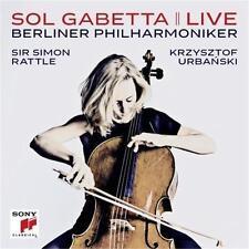 SOL GABETTA LIVE Sir Simon Rattle CD NEW