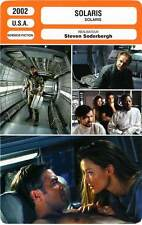 FICHE CINEMA : SOLARIS - Clooney,McElhone,Soderbergh 2002