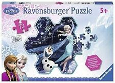 The Ice Queen Puzzle Snow Flake Ravensburger 73 Pieces Jigsaw Disney Frozen