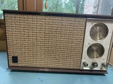 Vintage Mid Century GE Tube AM/FM Radio Model T-245A