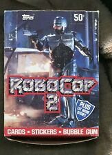 1990 Ser. 2 ROBO COP Trading Cards & Stickers Box Has 36 Packs