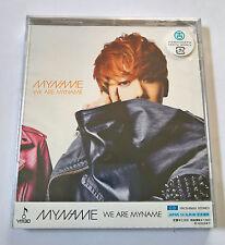 MYNAME WE ARE MYNAME CD Limited Ed. Japan Press Web Version - ChaeJin Chae Jin