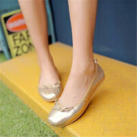 Women's Flats Ballet Soft Dance Loafers Casual Boat Shoes Pumps Slip On