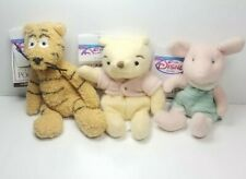 Vintage Disney Winnie the Pooh and friends plush Pooh Piglet Tigger with Tags