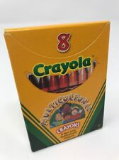 Crayola Multicultural Crayons 8 Count Non Toxic Assorted Colors C179A