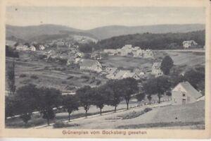 Postcard Lower Saxony Grünenplan by The Harz Mountain Goat Seen Field Post