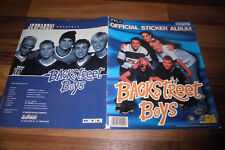 BACKSTREET BOYS -- OFFICIAL STICKER ALBUM von DS mit 168 von 176 Stickern / 1997