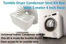 Siemens 4 inch Tumble Dryer Condenser Air Vent Kit White Indoor Box