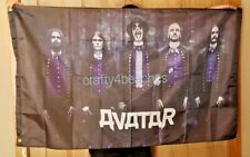 Avatar Flag Huge 3x5 Rock Metal Music