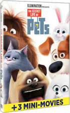 The Secret Life of Pets [New DVD] Slipsleeve Packaging, Snap Case